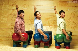 3 Idiots. Follow excellence and success will chase you pants down.